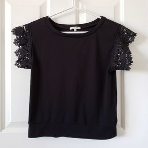 2/$20 Lace Sleeve Top